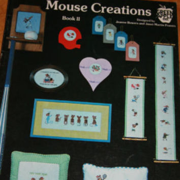 Cross Stitch Pattern Jeanne Bowers Janet Powers Mouse