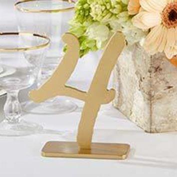 """""""Good As Gold"""" Classic Table Numbers (1-6)"""