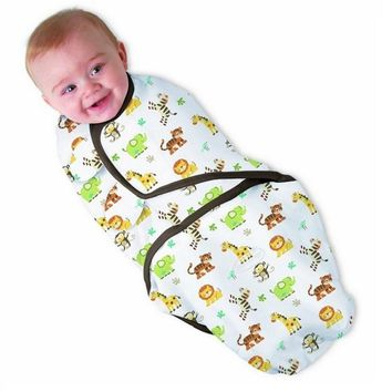 Baby 100% Cotton Swaddle Wrap Blanket