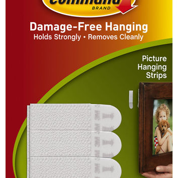 Command(TM) Small Picture Hanging Strips 17202