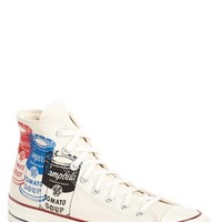 Men's Converse Chuck Taylor All Star Andy Warhol Collection High Top Sneaker,