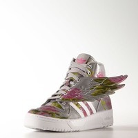 Adidas Jeremy scott Wings Floral Shoes Size 8 to 13 us B26023