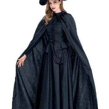 Atomic Black Witch Sorceress Costume