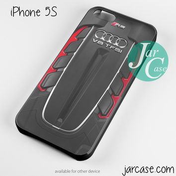 Audi RS Engine Phone case for iPhone 4/4s/5/5c/5s/6/6 plus