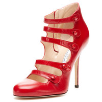 Dakofall Leather Bootie by Oscar de la Renta at Gilt