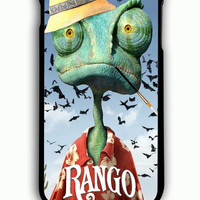 iPhone 6 Plus Case - Rubber (TPU) Cover with Johnny Depp is Rango Rubber Case Design