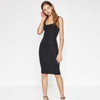 BASIC DRESS - Midi-DRESSES-WOMAN | ZARA United States