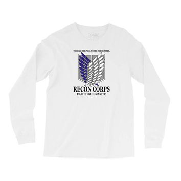 Recon Corps- Attack on Titan Long Sleeve Shirts