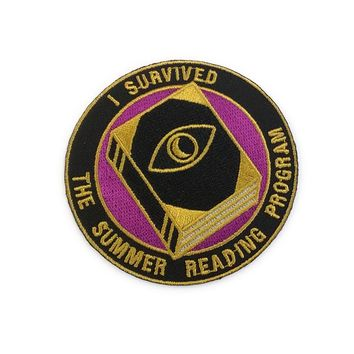 Summer Reading Program Patch