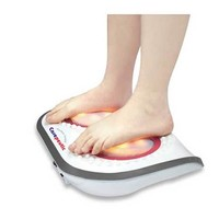 Carepeutic Turbo-Logy 3D Rolling Foot Massager with Heated Therapy