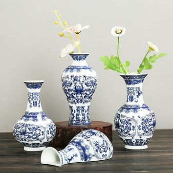 SOLEDI Ceramic Vase Terrarium Vintage Wall Hanging Flower Stand Decoration Flower Vase For Decoration Plant Stand Teraryum Vazen