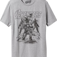 Old Navy Mens Marvel Comics The Avengers Tees