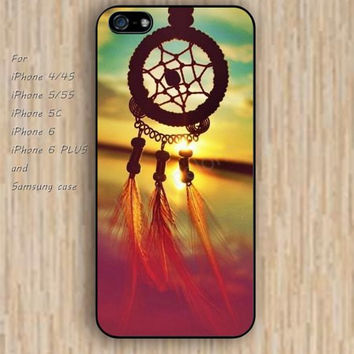 iPhone 5s 6 case dream catcher colorful phone case iphone case,ipod case,samsung galaxy case available plastic rubber case waterproof B580