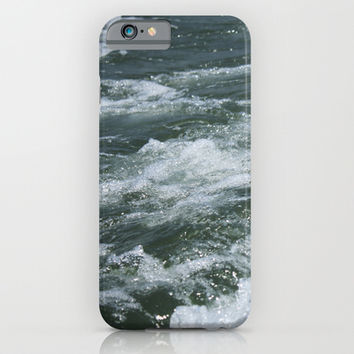 Ocean Waves iPhone & iPod Case by Kayleigh Rappaport