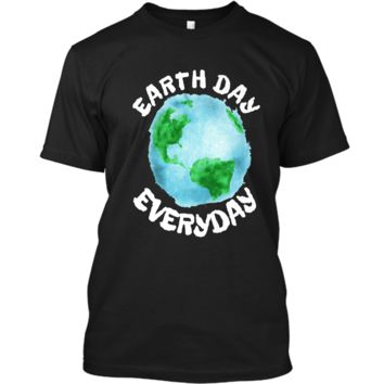 Earth Day Shirt Everyday Conservation Plant Nature Lover Tee Custom Ultra Cotton