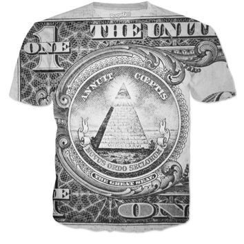 American dollar bill t-shirt
