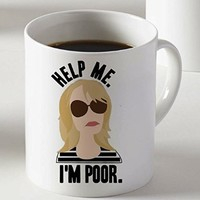 Help Me Im Poor Mug Two Sides