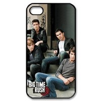 BTR Big Time Rush Slim-fit Iphone 4/4s Cases Cover 1r399