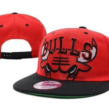 PEAPON Chicago Bulls NBA 9FIFTY Cap Red-Black