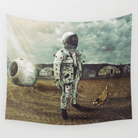 neighborhood Wall Tapestry by Seamless