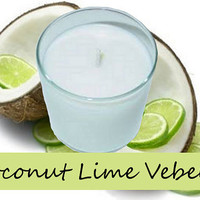Coconut Lime Verbena Scented Candle in Tumbler 13 oz