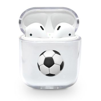 Soccer Ball Emoji Airpods Case