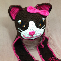Cute Crochet Cat Hat