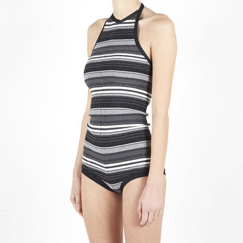 Lonely: Frankie Knit Bodysuit One Piece