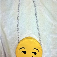 SWEET LORD O'MIGHTY! LIL SMIRK FACE CHAIN SLING