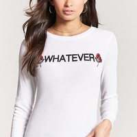 Whatever Waffle Knit Top
