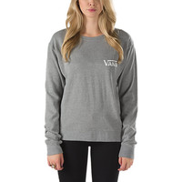 Authentic Small Logo Crew Sweatshirt | Shop at Vans