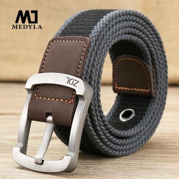 Military Style Canvas Tactical Belt