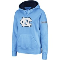 North Carolina Tar Heels Women's Big Logo Pullover Hoodie - Carolina Blue