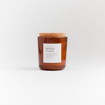 Orange and Clove Soy Candle