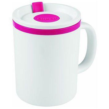 Copco Iconic Desk Mug 16 Ounce Pink
