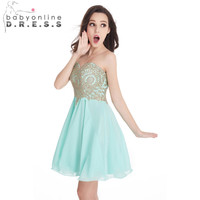 Vestido De Festa Curto Short Winter Formal Dresses