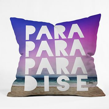 Leah Flores Paradise Throw Pillow