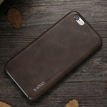 X-Level high quality vintage phone case for apple iphone 6 6s 4.7/ 6 plus 6s plus 5.5 inch luxury back case cover