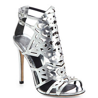 B Brian Atwood - Laconica Metallic Leather Sandals