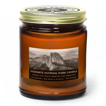 Yosemite National Park Pine Candle