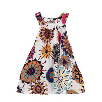 Baby Kids girls Flower  dresses