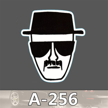 A-256 Tide Brand Drama Breaking Bad Pvc Single Waterproof Stickers toon Dead Fly Stick Scooter Suitcase