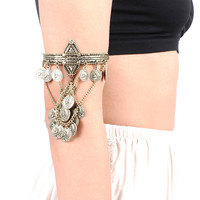 Treasure Coin Arm Cuff
