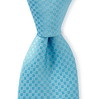 Ike Behar Mini Rectangle Silk Tie