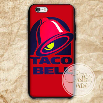 Taco Bell Logo iPhone 4/4S, 5/5S, 5C Series Hard Plastic Case