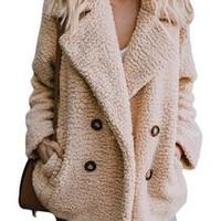 Oversized Fuzzy Fleece Jacket