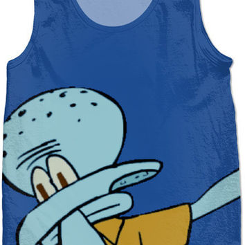 Squidward Dab Tank