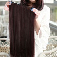 Full Head Clip-on Hair extension, 120g