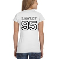 Kian Lawley O2L Our 2nd Life Second Ladies Softstyle Junior Fit Tee Cotton Jersey Knit Gift Shirt