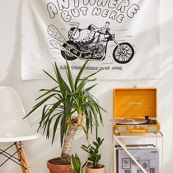 Eric Kenney X UO Anywhere But Here Tapestry   Urban Outfitters